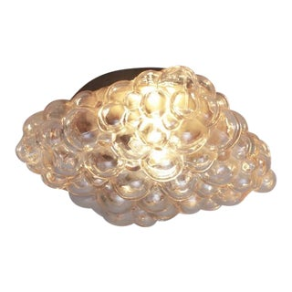 One of Two Helena Tynell Glass Flush Mount or Sconce for Glashütte Limburg For Sale