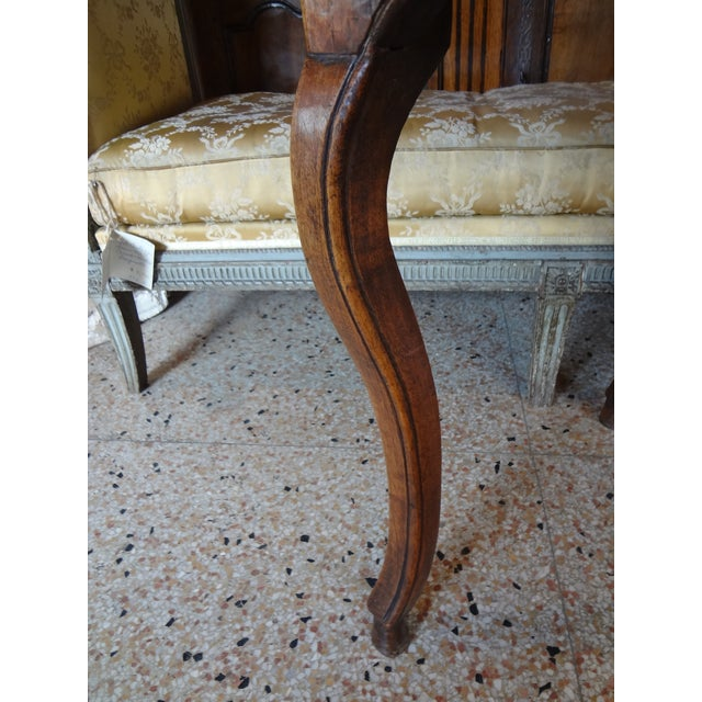 Louis XV Walnut Side Table For Sale - Image 10 of 11