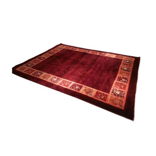 Handmade Hd Buttercup Persian Wool Rug - 7' X 9' For Sale
