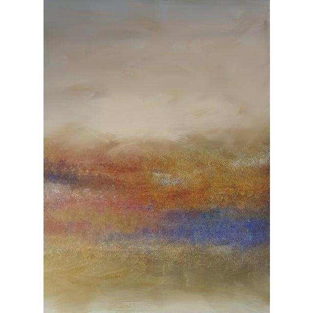 """Land's End"" Impressionist Landscape Painting - Image 2 of 3"