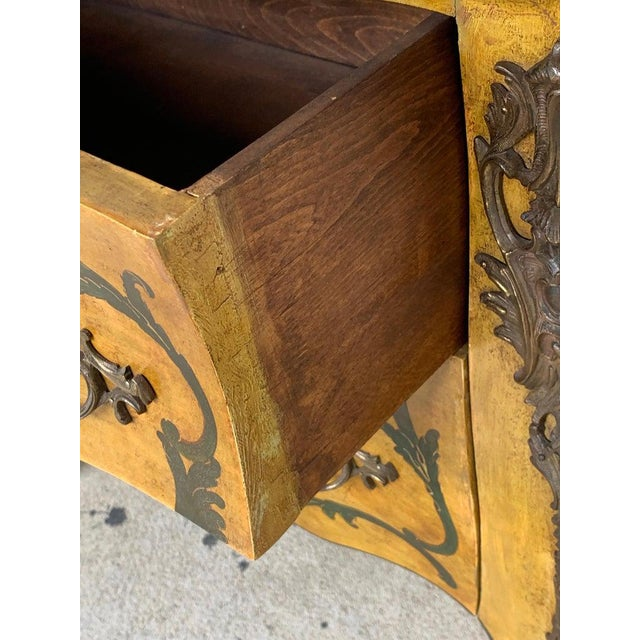 Fine Italian Piranesi Topographical Polychromed Marble Top Commode For Sale In Atlanta - Image 6 of 13