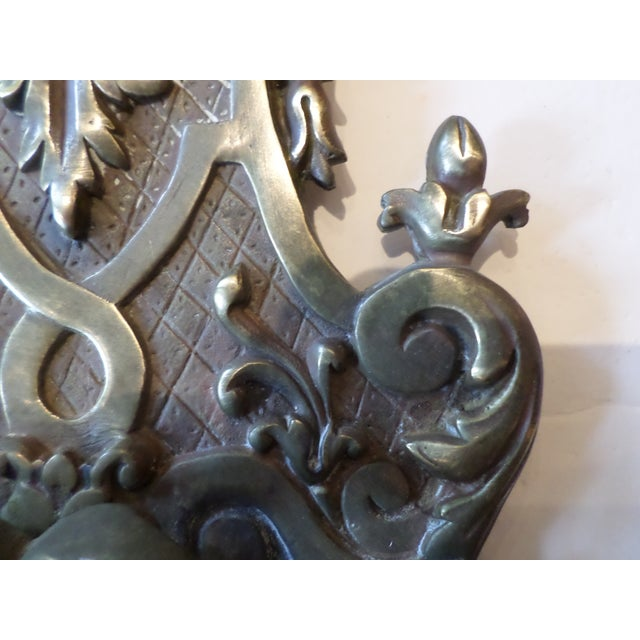 19th Century Italian Bronze Sconces - A Pair For Sale - Image 5 of 10