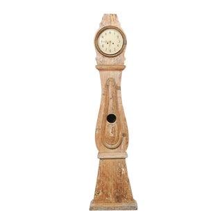 19th Century Swedish 8 Ft. Tall Floor Clock For Sale