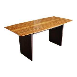 Edward Wormley Tawi Wood Desk Model 5472 for Dunbar Circa 1954 For Sale