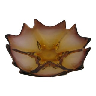 Mid-Century Murano Centerpiece Bowl For Sale