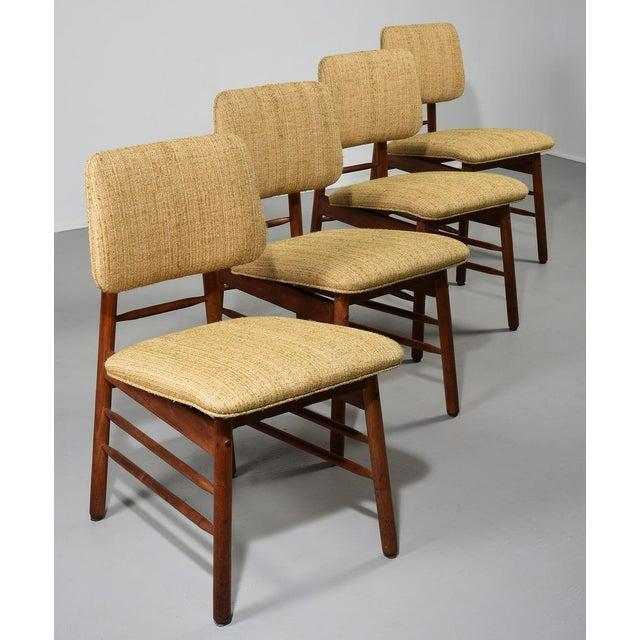 1952 Vintage Greta Grossman Model 6260 Chairs - Set of 4 For Sale - Image 10 of 10