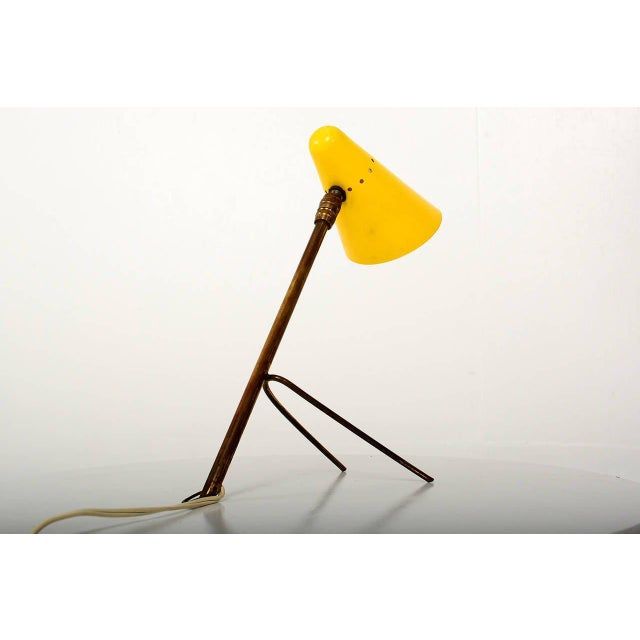 Metal French Cocote Table or Wall Lamp For Sale - Image 7 of 9