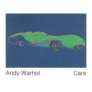 Andy Warhol_Formula 1 Car W196 R (1954)_1989_Offset Lithograph For Sale