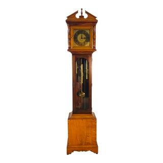 Vintage 1960s Maple Wood Grandmothers Clock For Sale