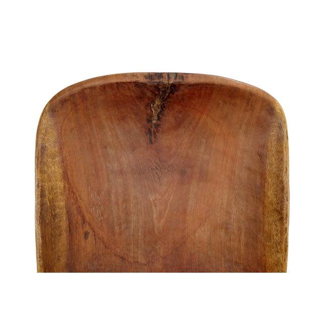 Senufo Stargazer Wood Folding Chair For Sale - Image 4 of 5
