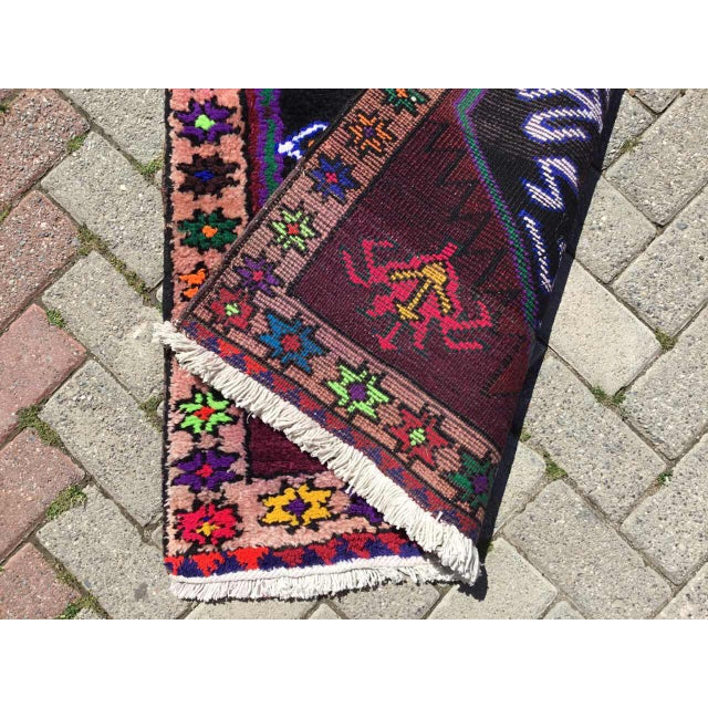 Textile Vintage Anatolian Runner Rug For Sale - Image 7 of 8