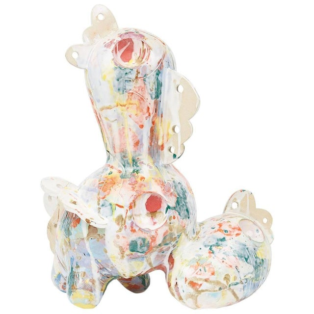 Contemporary Ceramic Sculpture Cloudscape from David T. Kim For Sale - Image 4 of 4