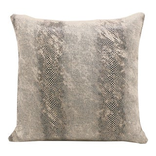 """Piper Collection Faux Snakeskin """"Cindy"""" Pillow For Sale"""