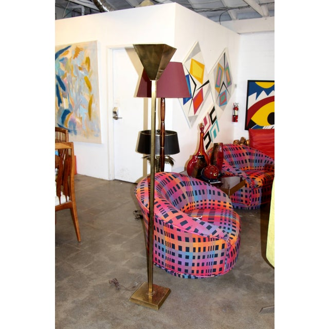 Brass Chapman Floor Lamp For Sale In Palm Springs - Image 6 of 6