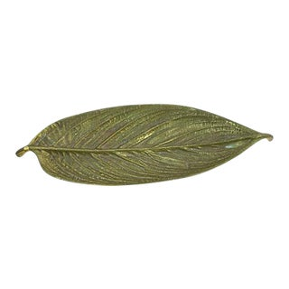 1940s Metalcrafters Leaf Catchall For Sale
