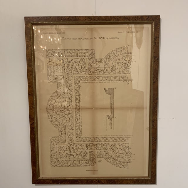 Late 19th Century Antique Architectural Print For Sale - Image 9 of 13