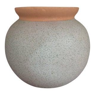 Matte Lavender Terra-Cotta Plant Pot For Sale