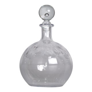 1960s Vintage Limor Crystal Decanter