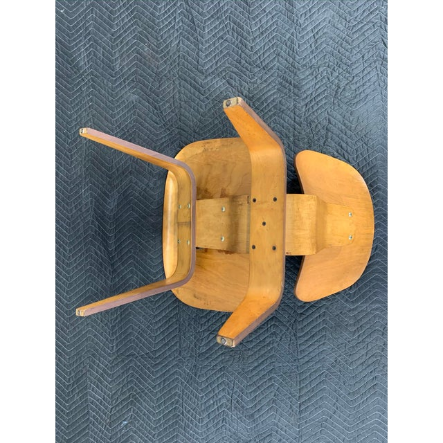 Mid-Century Charles Eames Lcw Herman Miller Lounge Chair For Sale - Image 10 of 11