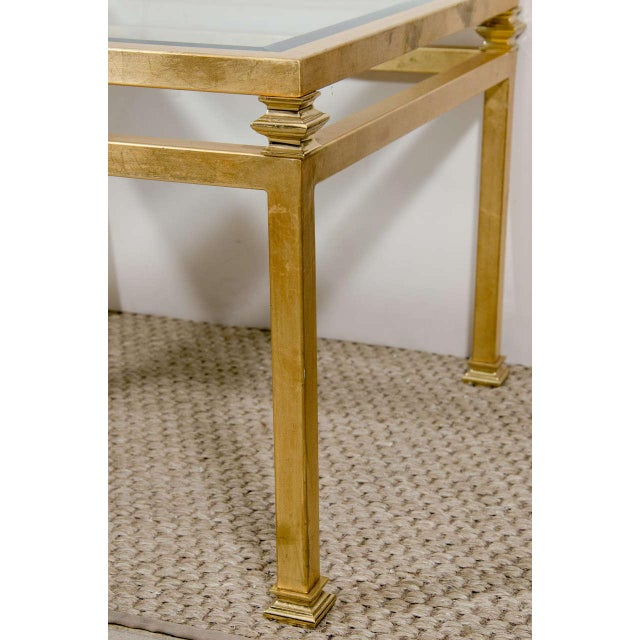 Pair of Gilt Iron Side Tables - Image 3 of 8