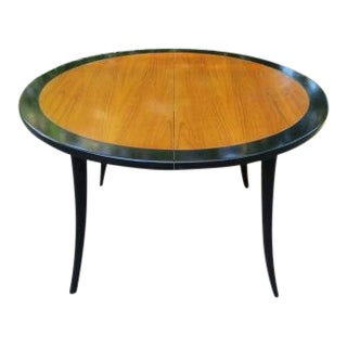 1950s Mid Century Modern Harvey Probber Saber Leg Dining Table For Sale