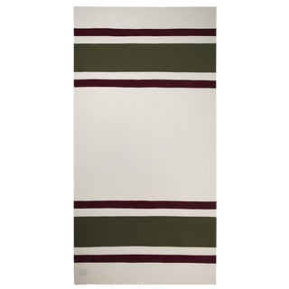 """Trade Cashmere Blanket, Ivory, 49"""" x 48"""" For Sale"""