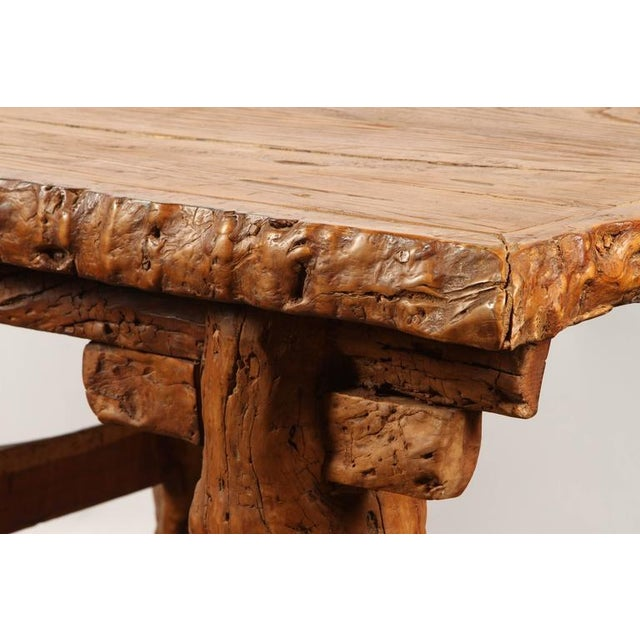 """Aesthetic Movement Chinese Rustic """"Root"""" Table For Sale - Image 3 of 9"""