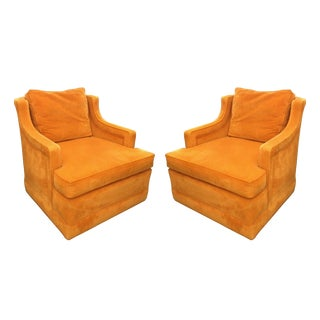 1960s Armchairs by Edward Wormley for Dunbar For Sale
