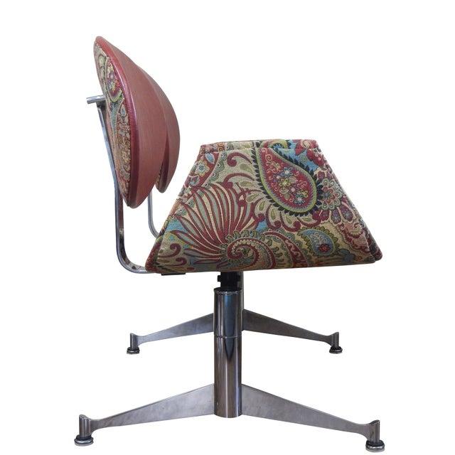Faultless-Doerner Steel Base Tandem Seating For Sale - Image 4 of 11