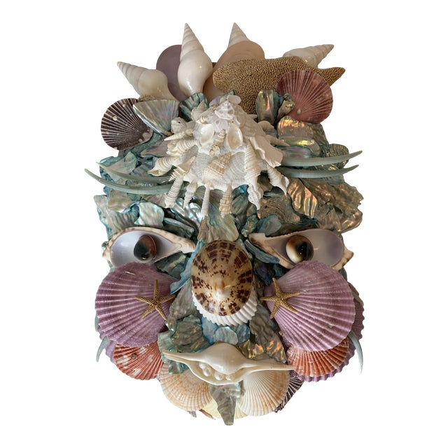 Commedia Del Arté 'Il Dottore' Shell Mask For Sale