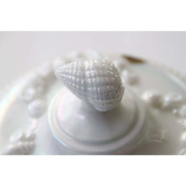 Westmoreland Footed Seashell Candy Dish For Sale - Image 5 of 8