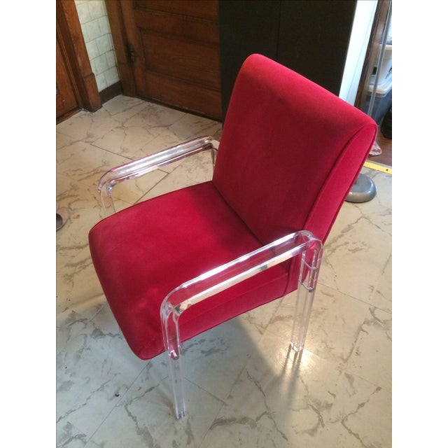 Modern Haziza Executive Chair For Sale - Image 3 of 3