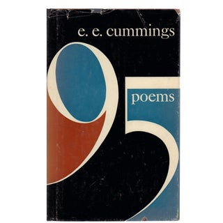 "1958 ""95 Poems"" Collectible Book For Sale"