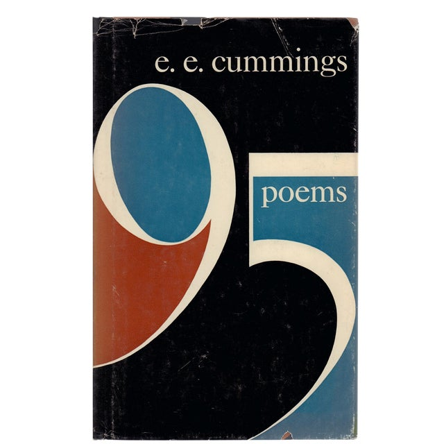 """1958 """"95 Poems"""" Collectible Book For Sale"""