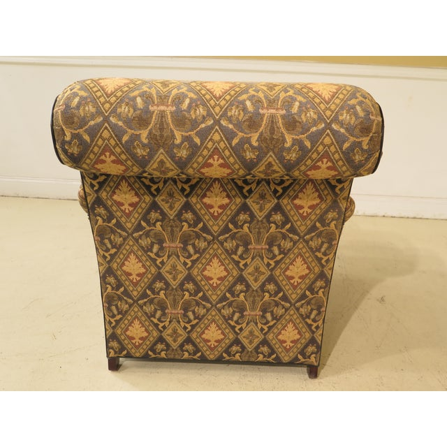 Hancock & Moore Tarleton Upholstered Chair & Ottoman - a Pair For Sale - Image 10 of 13