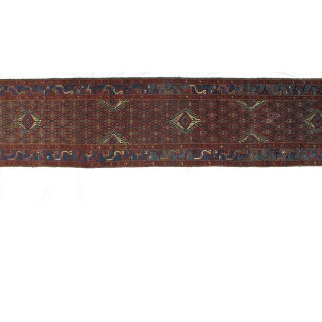 "Leon Banilivi Antique Malayer - 3'3"" X 16'10"" For Sale - Image 4 of 6"