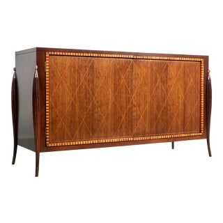 1980s Mid-Century Modern Baker Furniture Credenza For Sale