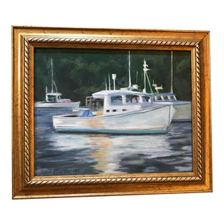 """""""Bar Harbor Nights"""" Oil Painting For Sale"""