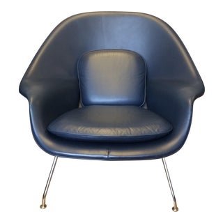 Knoll Blue Womb Chair