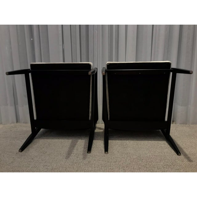 Mid-Century Style Chairs by Arhaus - a Pair For Sale - Image 11 of 13