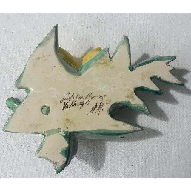 1890s Rare Majolica Delphin Massier Lemons Applique For Sale In Austin - Image 6 of 7