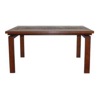 1976 Vintage Ox Art Dining Table