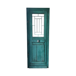 Single Antique French Front Door For Sale
