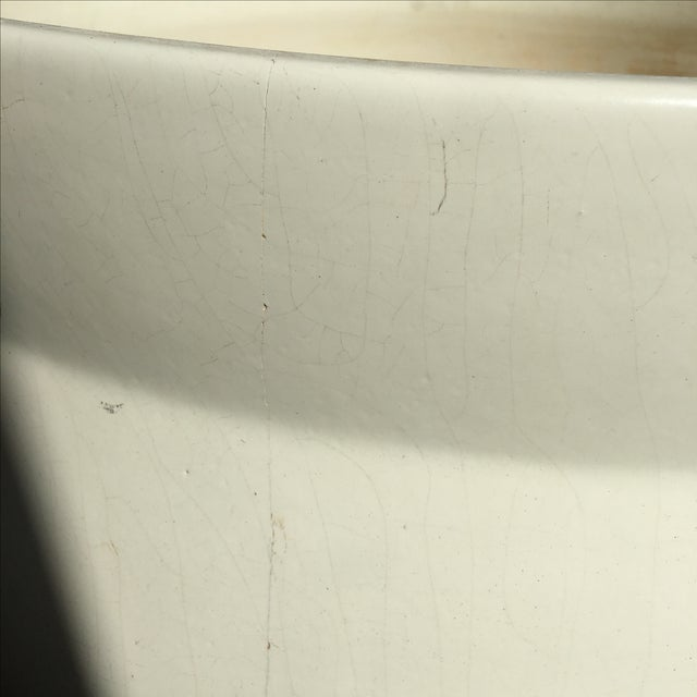 White David Cressey Architectural Pot For Sale - Image 7 of 9