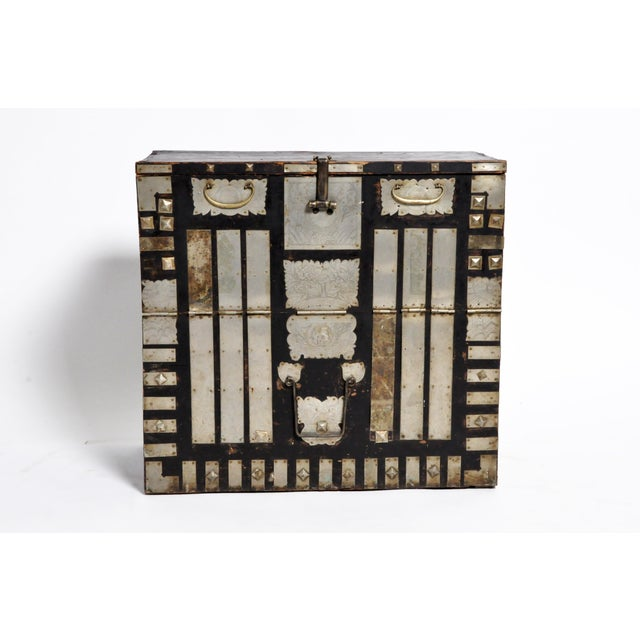 Late 19th Century Late 19th Century Korean Wedding Chest For Sale - Image 5 of 13