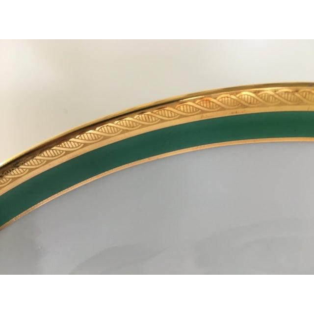 Vintage Richard Ginori Palermo Green 6-Place Dinnerware Set For Sale In Miami - Image 6 of 10