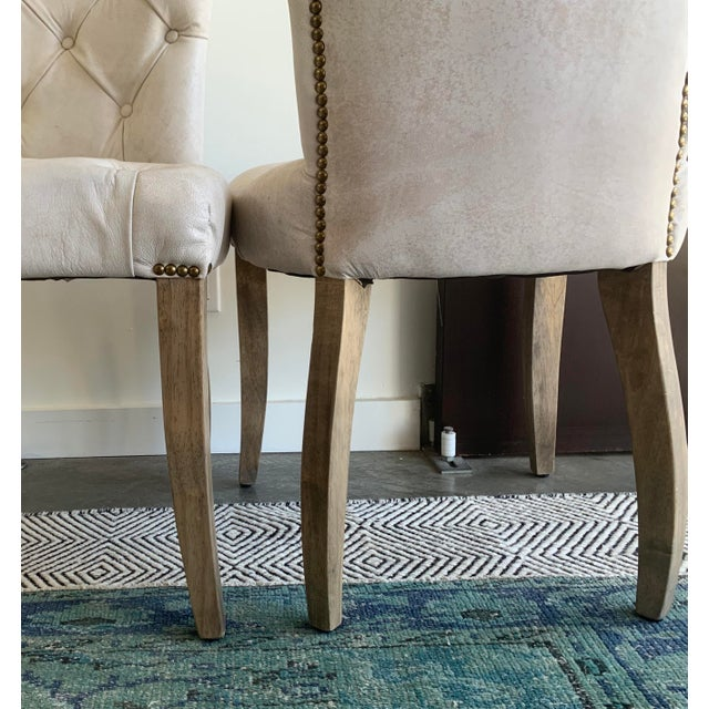 Timothy Oulton's Halo Chester Dining Chairs- A Pair For Sale - Image 10 of 12