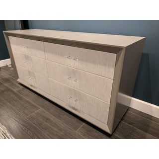 6-Drawer Wood and Linen Dresser Preview