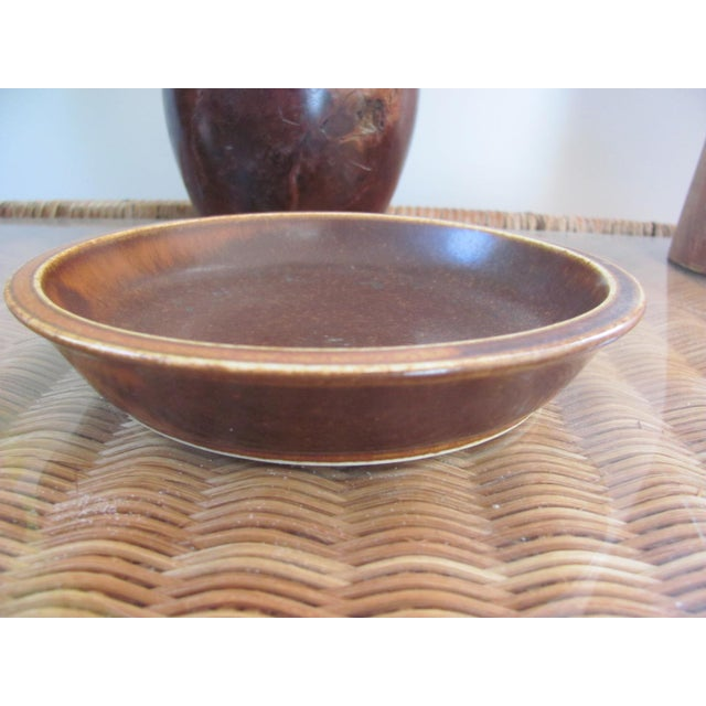 20th Century Rustic Saxbo Eva Staehr Nielsen Ceramic Nesting Bowls - Set of 3 For Sale In Providence - Image 6 of 13