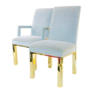 1970s Milo Baughman for Dia Dining Chairs- A Pair For Sale